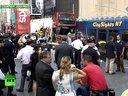 纽约时代广场发生车祸:公交车相撞事故导致八人受伤