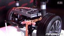 奥迪A8 hybrid混合动力车型 原理车直观解析