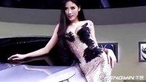 广州车展东风雪铁龙美女车模展现完美身材